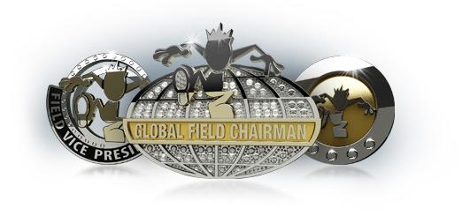 логотип Айвови в стиле метала